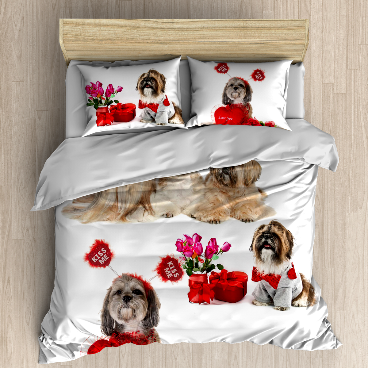 Shih tzu bedding sheet duvet cover Duvet bedding sets