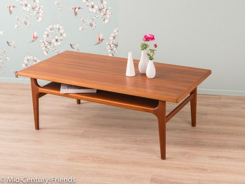 Vintage Tische   60er Couchtisch, Tisch, 50er, Vintage, Denmark   Ein  Designerstück Von Mid Century Friends Bei DaWanda