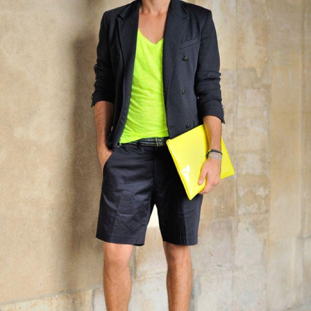 Resultado de imagen para ropa neon hombre