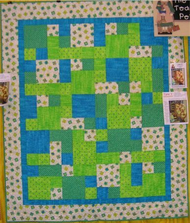 Easy Quilt pattern- Take 5