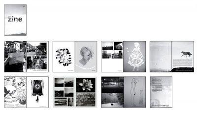 zine layout - Google Search