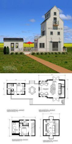 Saskatchewan 1016 Robinson Plans Small House Small House Plans Tiny House Design