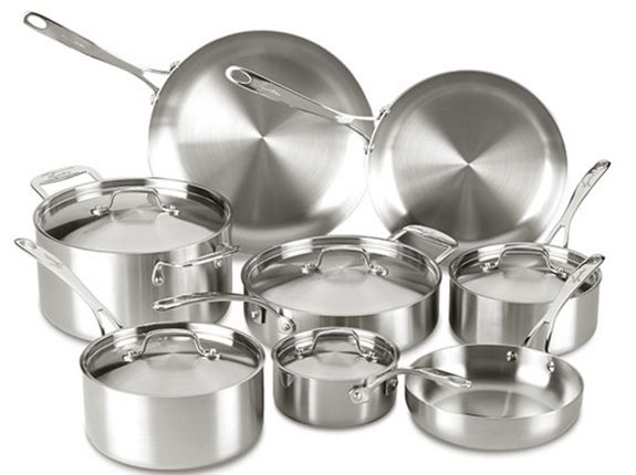 Holiday Giveaway 13 Piece Lagostina Cookware Set 399 Value Cookware Set Stainless Steel Safest Cookware Lagostina