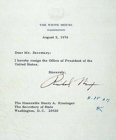 nix-resigjpg (390×472) Letter Pinterest - nixon resignation letter