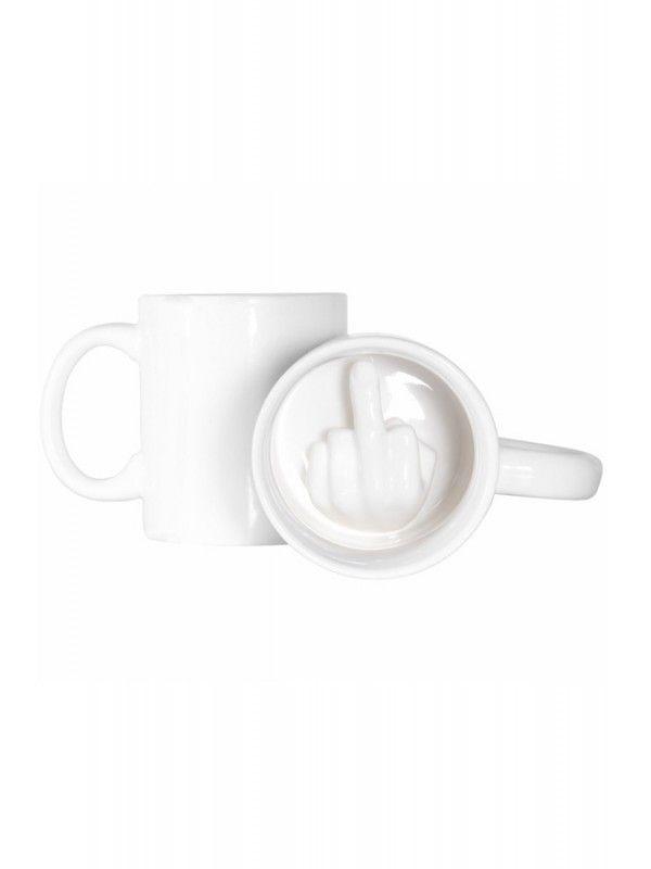 Up Yours! Middle Finger Mug