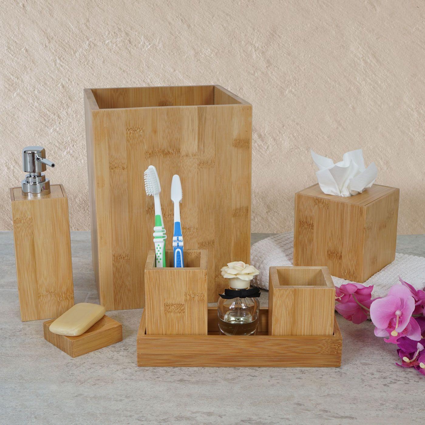 Holz Badezimmer Accessoires Home
