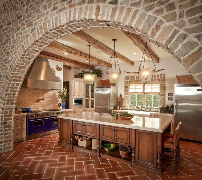 Favori ▷ 1001 + designs et conseils pour la cuisine rustique parfaite  WX26
