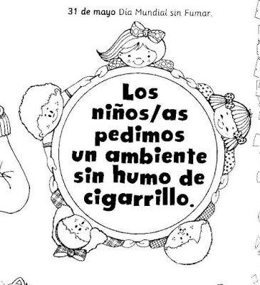31 De Mayo Dia Mundial Libre De Humo De Cigarro Dia Del No Fumador Dia Mundial Sin Tabaco Dia De No Fumar