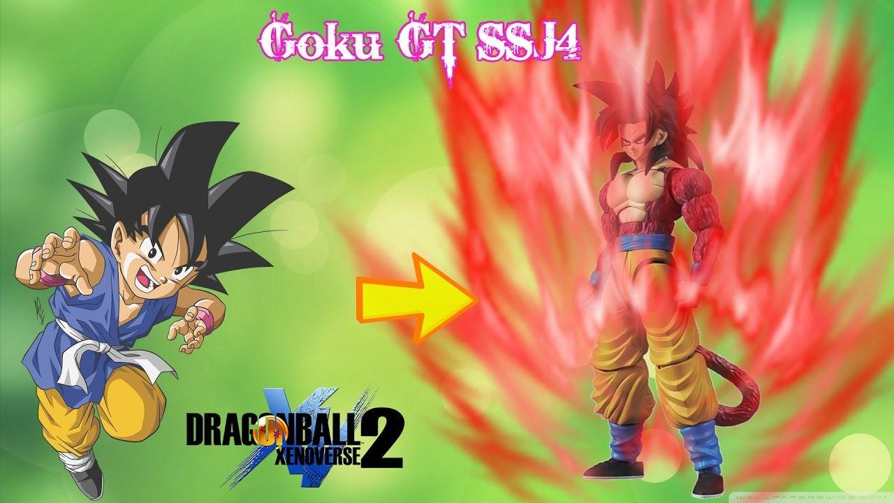 Goku GT Transform to Super Saiyan 4 - Mods X2m Dragon Ball Xenoverse
