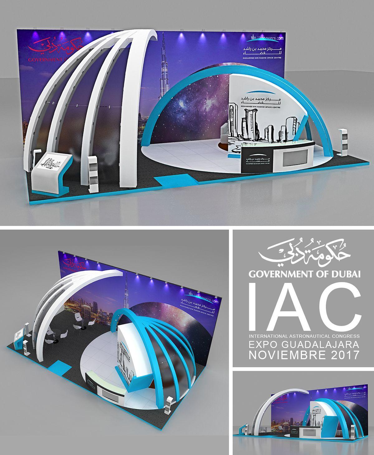 Government Of Dubai On Behance Government Dubai Exhibition Design