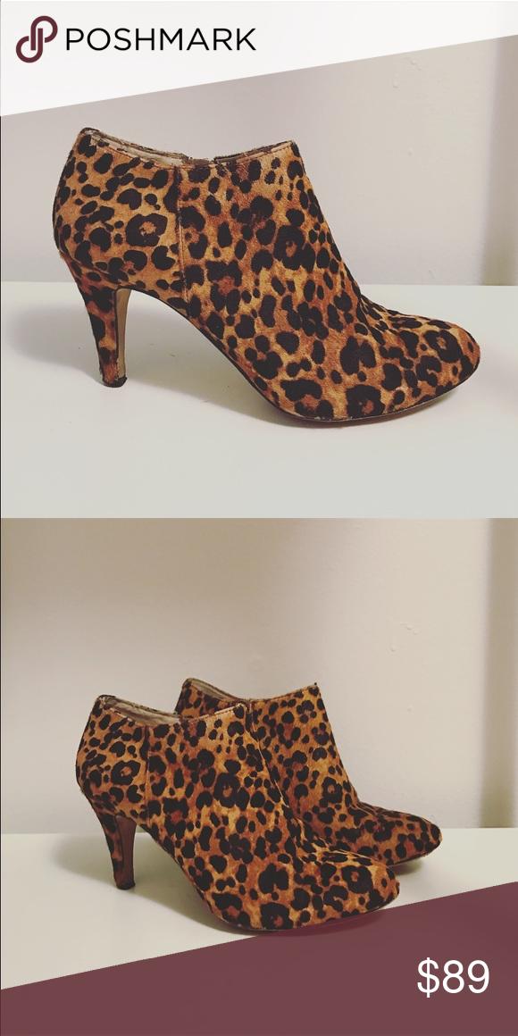16cfbaec1a6 Leopard print calf-hair booties Leopard print calf-hair
