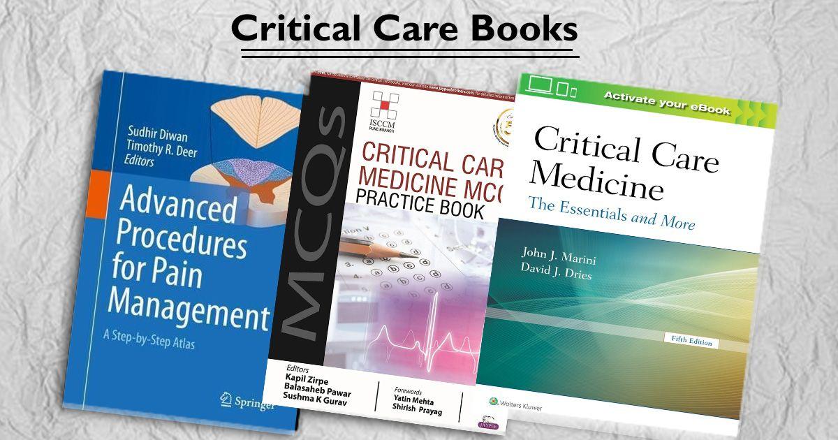 Critical Care, Intensive Care, Intensive Care Unit