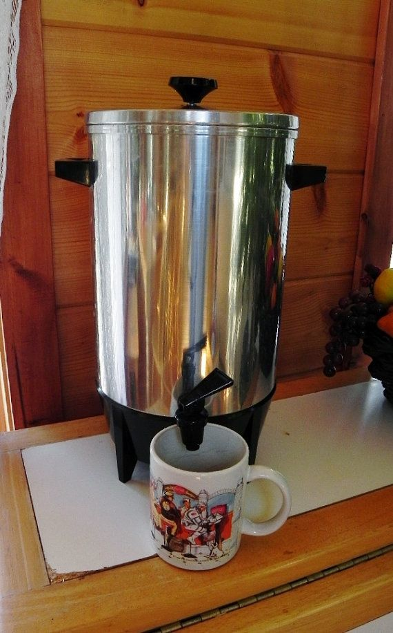 Vintage 12 36 Cup West Bend Coffee Maker Percolator 30 Cup Coffee Maker Coffee Maker Coffee