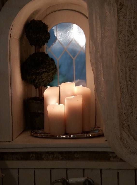 candles - my first dollhouse - beacon hill - gallery - the greenleaf