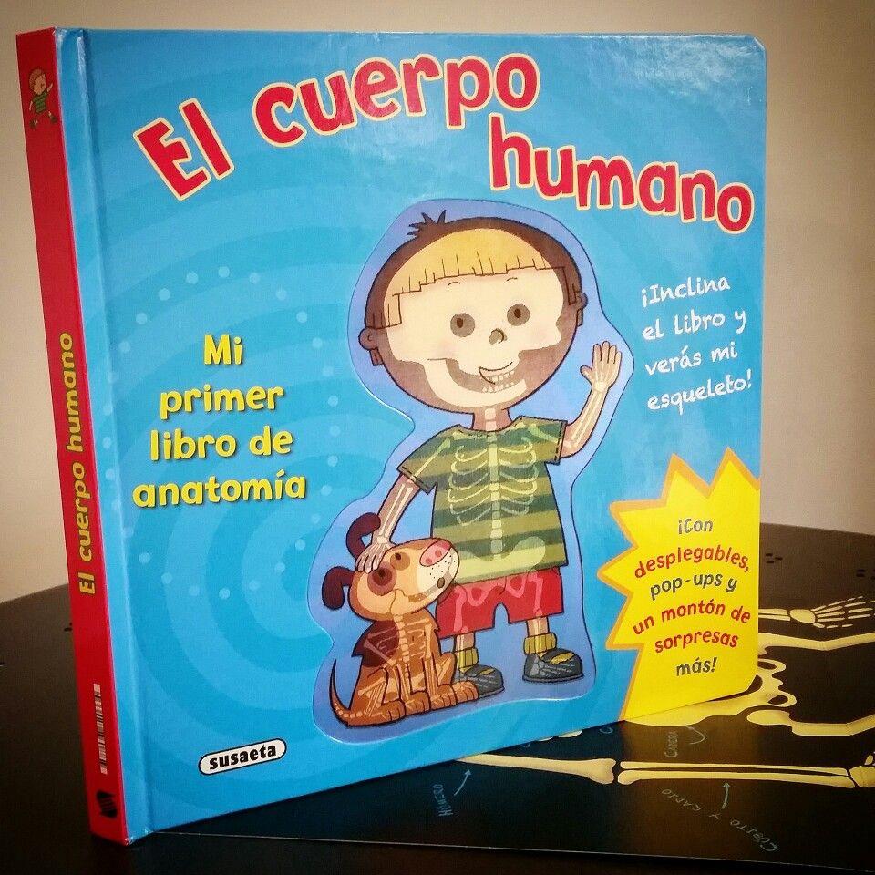 El primer libro de anatomía para que los peques aprendan conceptos ...