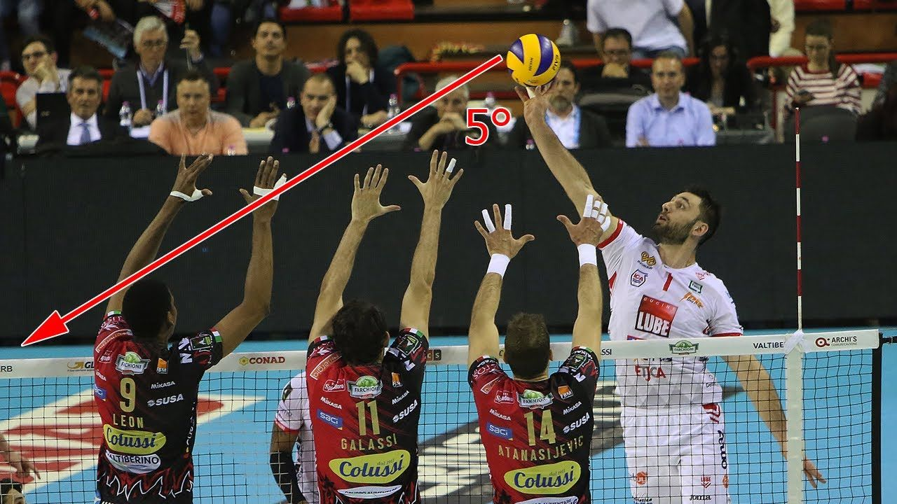 The Most Craziest Angle Of Attack 2019 Amazing Volleyball Spikes Super Volleyball Attacks Fullhd Best And Powerful Volleyball Spikes With Crazy Angles Of