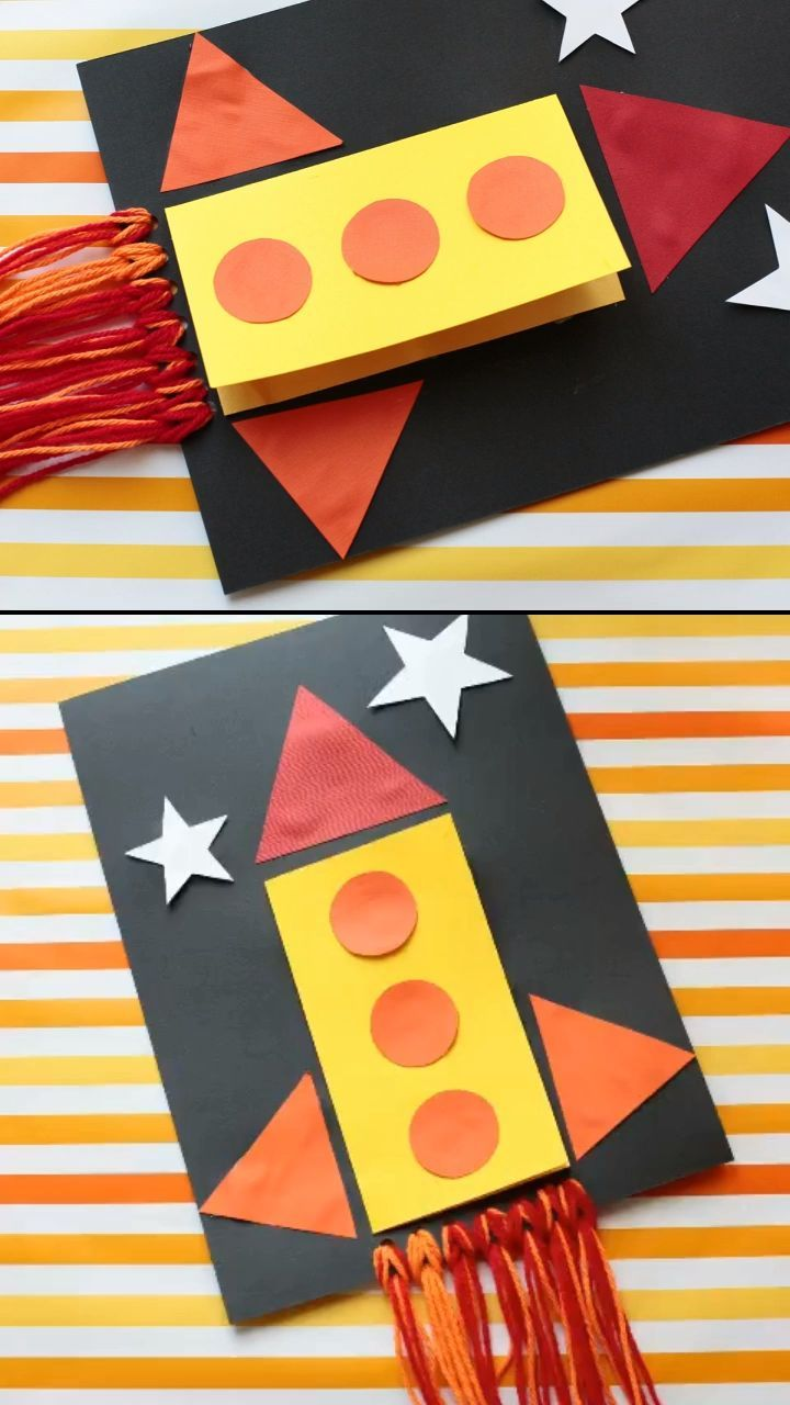 DIY Fathers Day card for kids to make