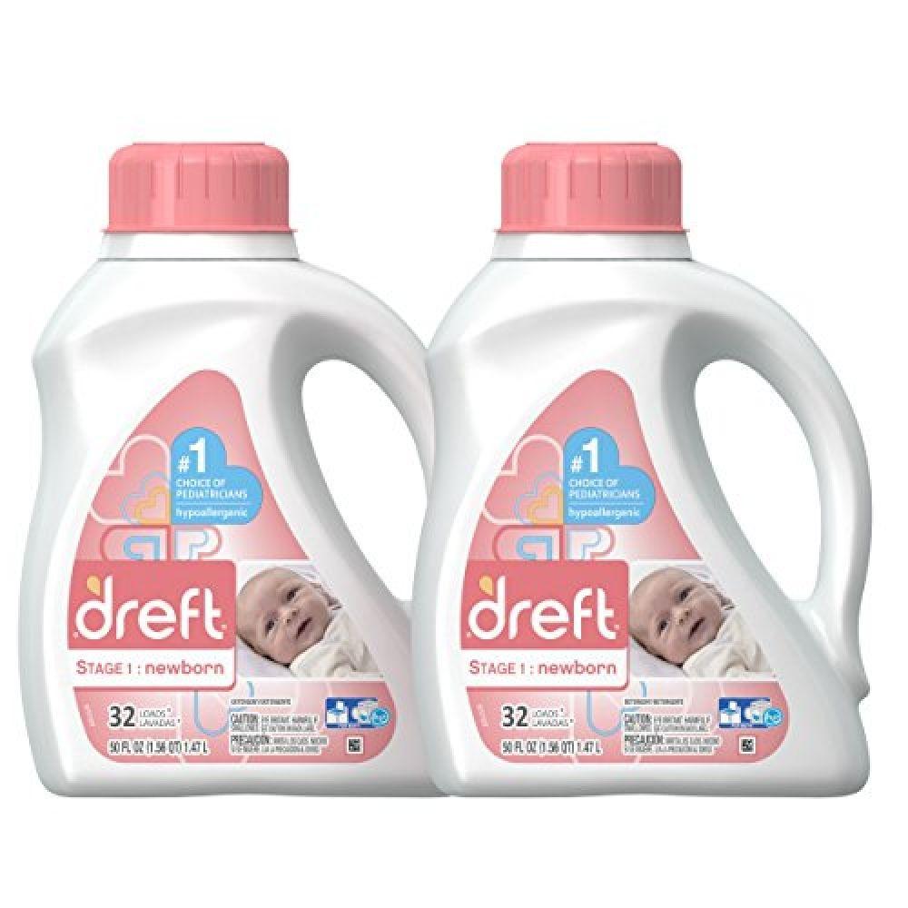 Dreft Stage 1 Newborn Hypoallergenic Liquid Baby Laundry