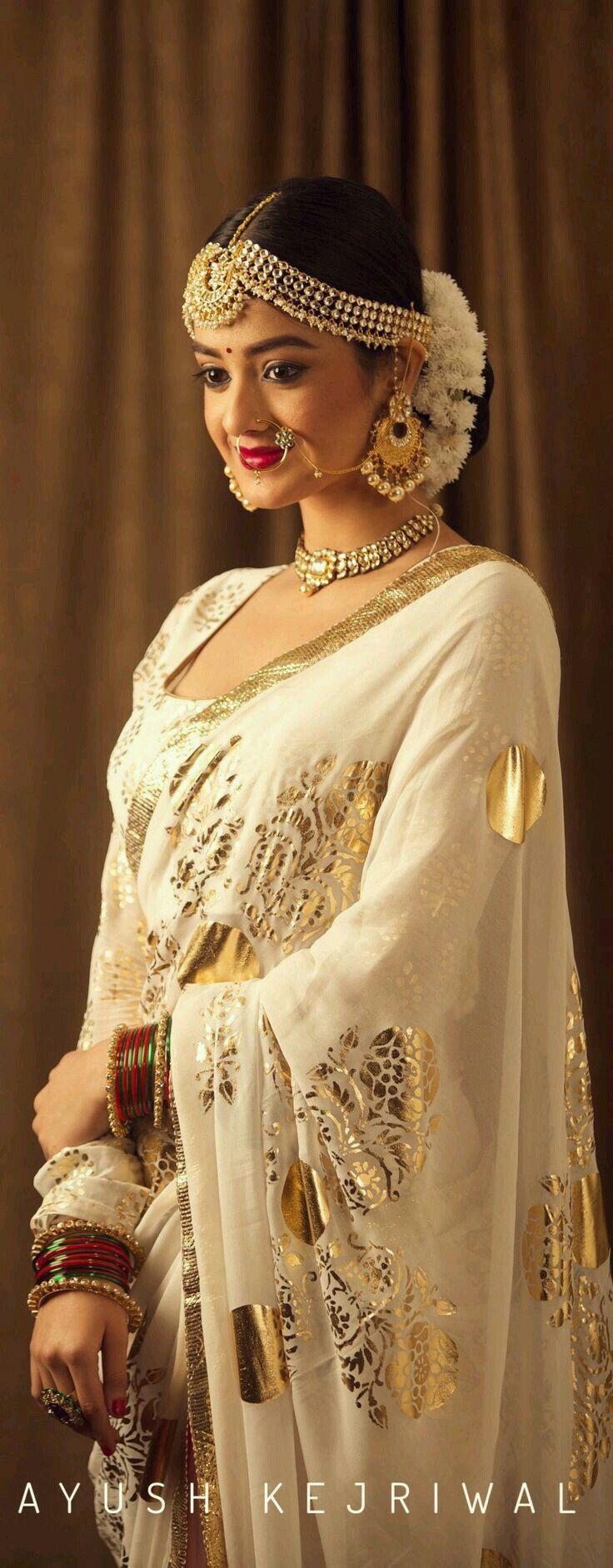 S fatima beauty pinterest saree punjabi bride and bengali bride