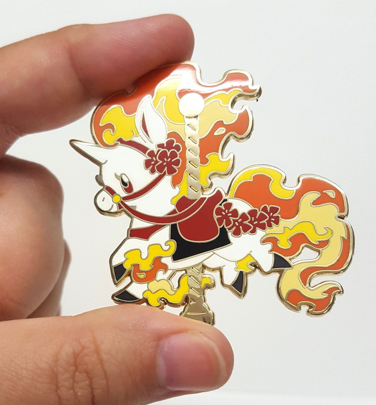 Pokemon Carousel Pins made by Mamath -