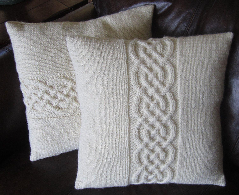 celtic pillow | Knitting | Pinterest | Pillows, Celtic knots and ...