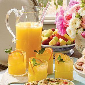 Sparkling Ginger-Orange Cocktails. ☀CQ #bartending #cocktails #margarita #daiquiris http://www.pinterest.com/CoronaQueen/backyard-bartending-corona/