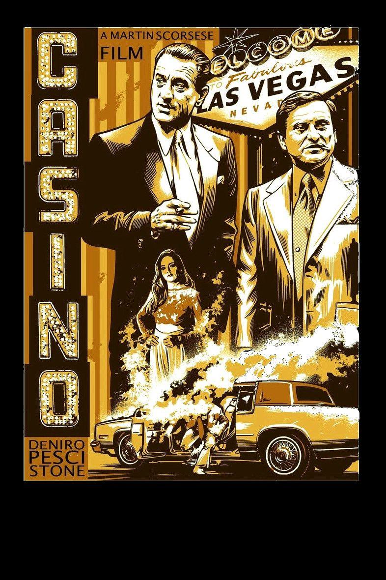 Casino Film Posters Vintage Minimal Poster Best Movie Posters