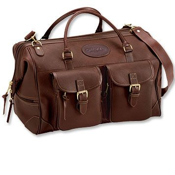 bullhide leather weekend duffle from orvis