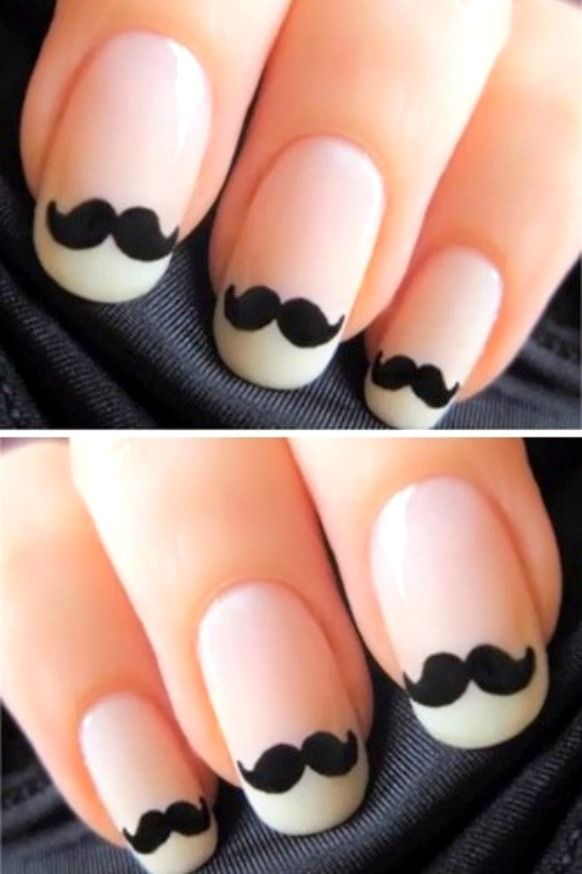 Black And White Nail Art Design - Black And White Nail Art Design Black&White Pinterest White