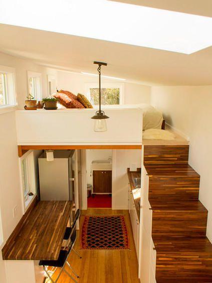 Dormitorios en altillos para espacios peque os new hme for Diseno de apartamento de 4x8 mts