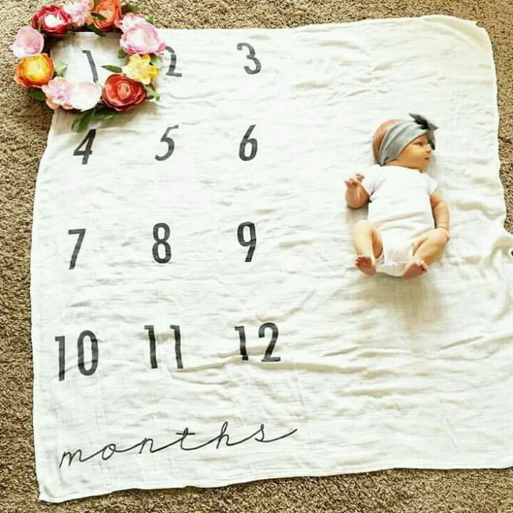 Such a sweet idea! A simple backdrop that's easy to set up. This gives you such a clear perspective and comparison of growth.