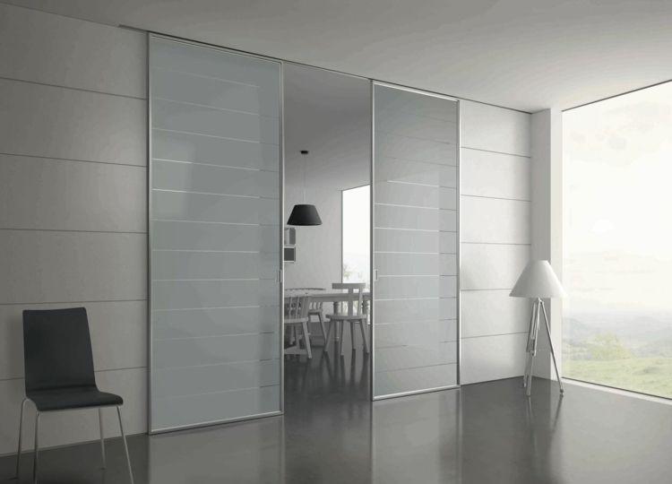 portes coulissantes pour l 39 int rieur 48 id es inspirantes futur appart pinterest portes. Black Bedroom Furniture Sets. Home Design Ideas