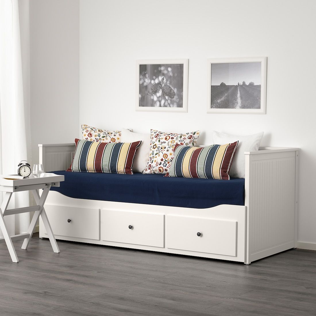 Hemnes Daybed Frame With 3 Drawers White Twin Ikea In 2020 Hemnes Day Bed Ikea Hemnes Daybed Day Bed Frame