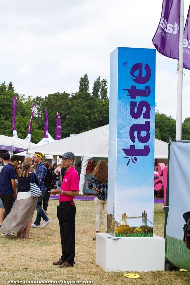 Taste of London 2015  - not a patch on Taste of Helsinki!