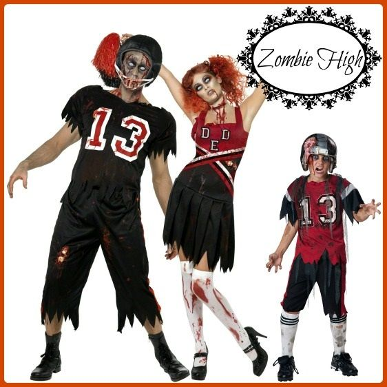 Cute Costume Ideas for Families Costumes, Zombie cheerleader and