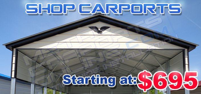 Metal Carport Prices Georgia Carports At Lowes Outdoor