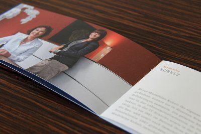 Strebel Juon entwickelte ein Corporate Designs für die Firma Madeleine Kobelt Immobilien, welches Werte wie Seriosität, Zuverlässigkeit und Sicherheit zum Ausdruck bringt.