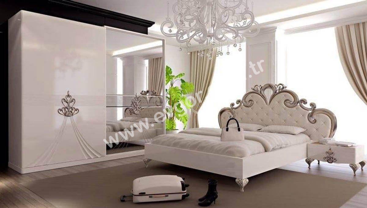 Modern ah ap tavan tasar m ile yatak odas dekorasyonu - Akustik Avangarde Yatak Odas