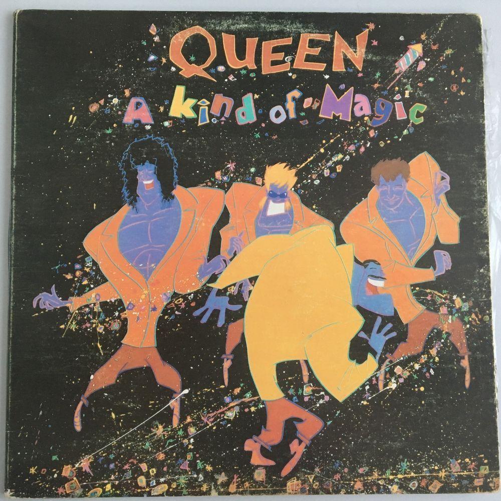 Queen A Kind Of Magic Venezuela Emi Release Rare Muziek Albums Albumhoezen Muziek