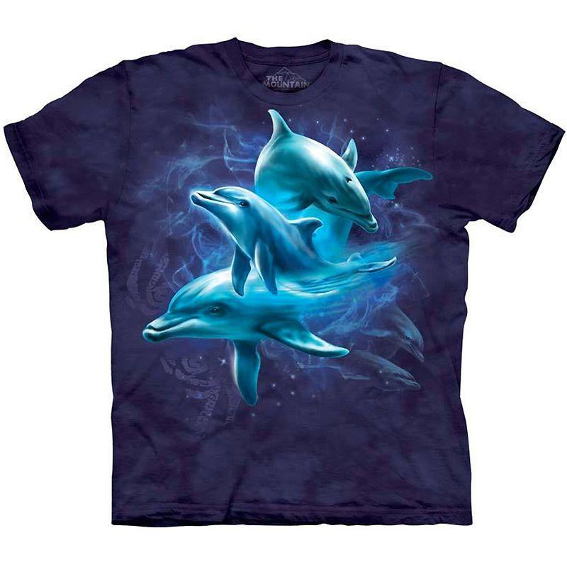 Under the Sea T-Shirt Cool Kid/'s Tee Blue Tie Dye Tee,Jerry Lofaro Ocean Art