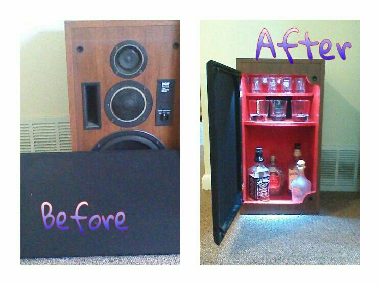 Great hidden storage i need to build this small liquor
