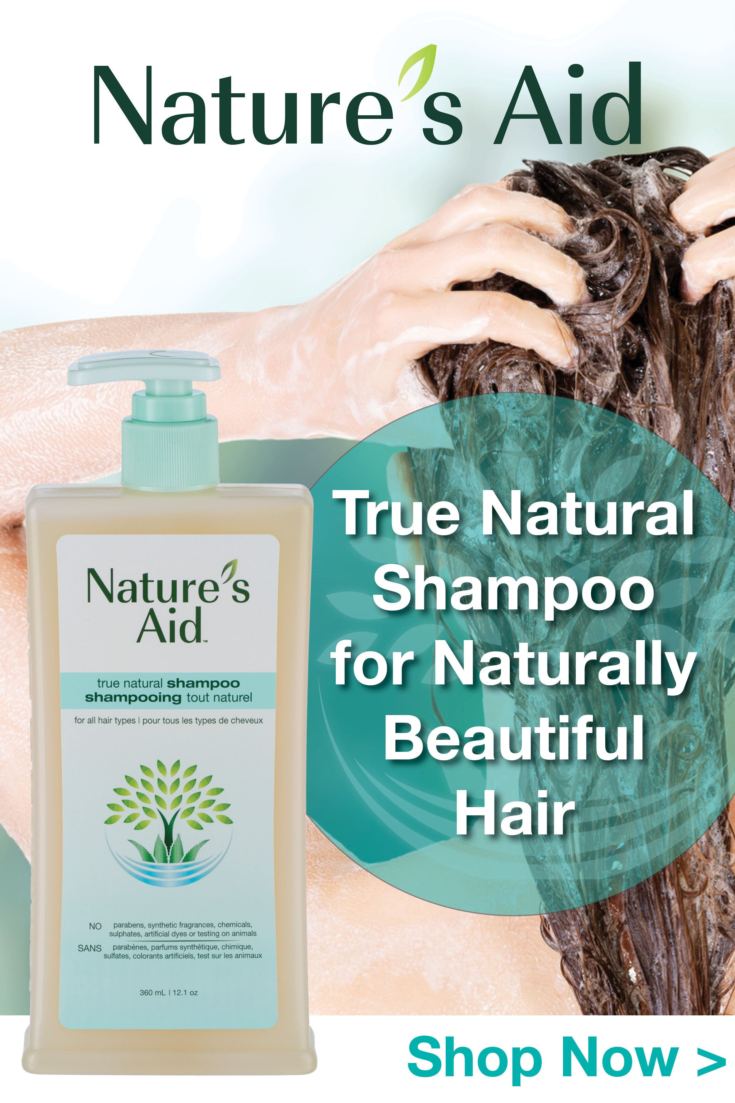 Get Amazing Results And A Great Natural Lather With Nature S Aid Shampoo Works Well With All Hair Natural Shampoo Natural Psoriasis Remedies Shampoo