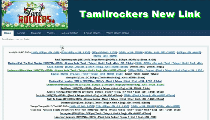 Tamilrockers Latest Website Download Malayalam Hindi Dubbed Movies Tamilrockers New Link Similar Sites Like T Download Movies Hd Movies Download Hd Movies