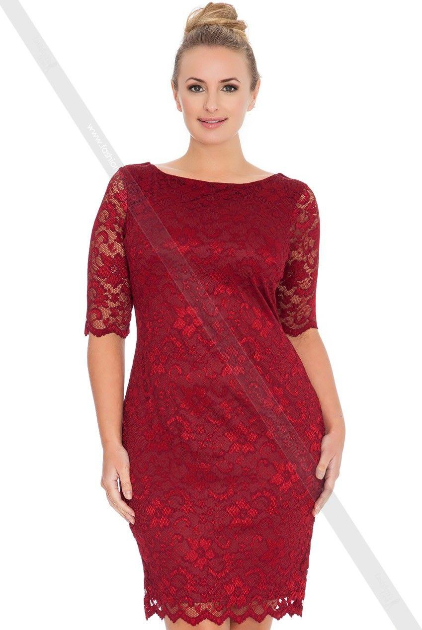 kleid k1078-6 - Übergröße - damen | modestil, kleider für