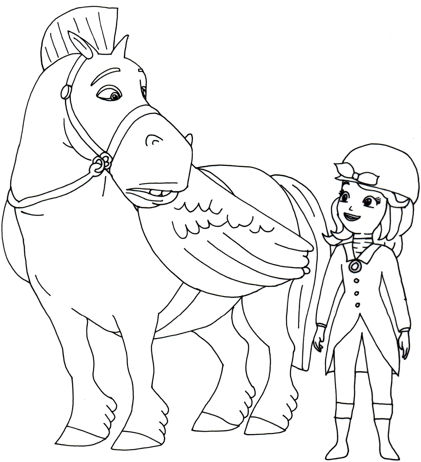 sofia the first coloring pages sofia the first pinterest