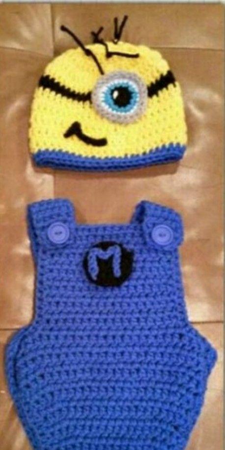 Minion Crochet Pattern Pinterest Top Pins   Minion crochet, Baby ...