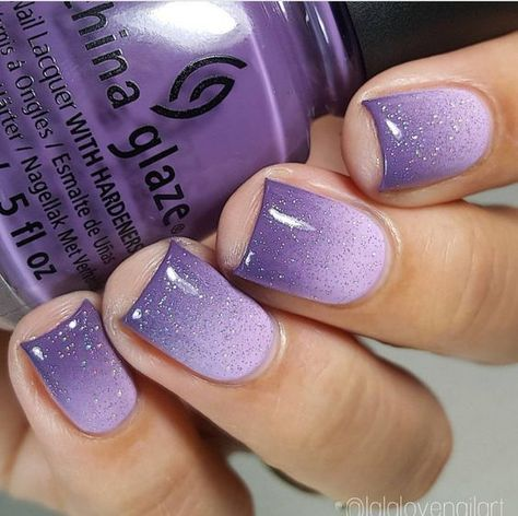 purple nail art design for 2020 spring in 2020  fioletowe