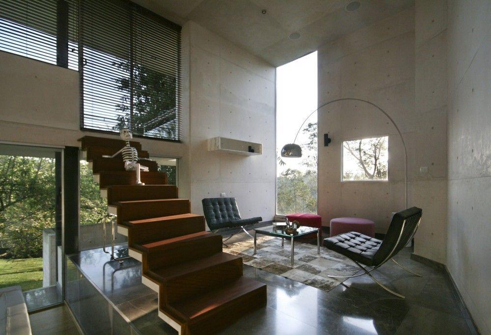 Entzuckend 70 Moderne, Innovative Luxus Interieur Ideen Fürs Wohnzimmer   Minimalistisches  Interieur Treppe Modern Luxus Design