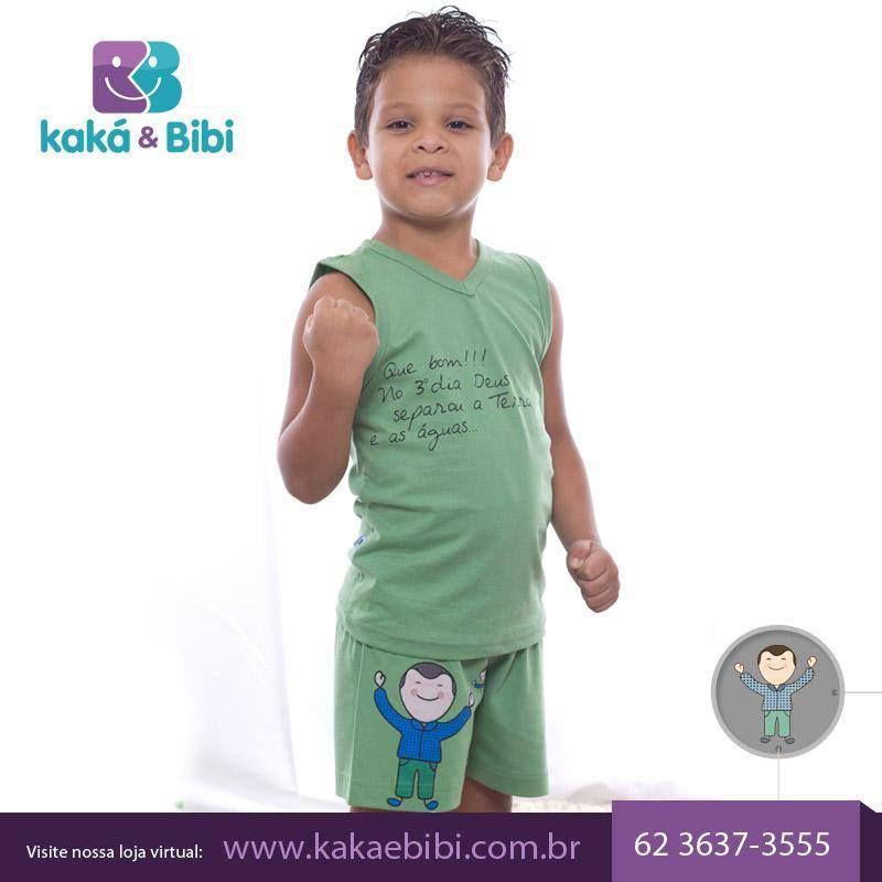 A Kaká e Bibi desenvolveu uma linha especial de pijamas que vão contar as histórias da Bíblia e levar a mensagem de Deus, abençoando o sono da criança e de toda a família. Conheça nossa coleção completa no site: http://bit.ly/1KVT5A3