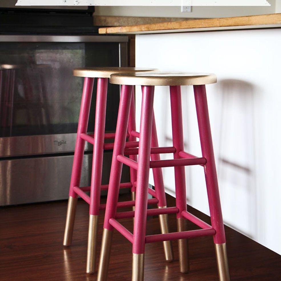 Golddipped bar stools dip bar bar stool and stools